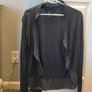 2 NY&CO cardigans size med* black & gray